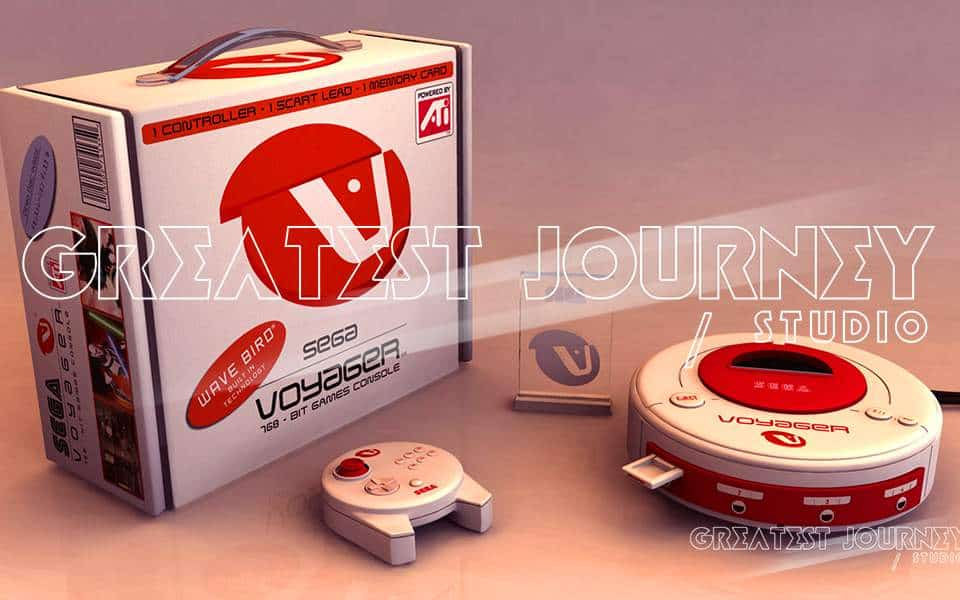 Greatest Journey, Art, Sega Voyager